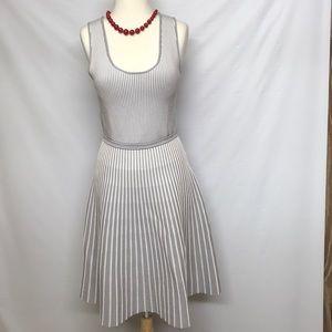 Banana Republic striped sleeveless dress.